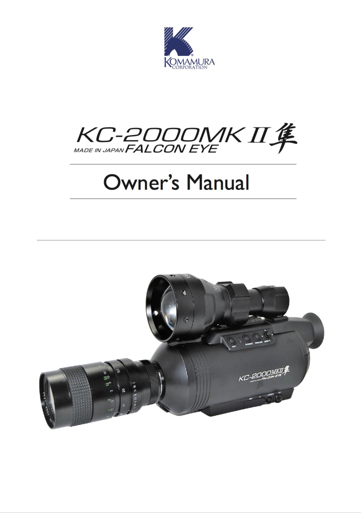 Download Falcon Eye KC-1100 MK2 Manual English pdf file (1.1 MB)